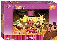 Puzzle 120 Máša a Medvěd - Máša je klaun