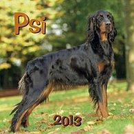 Psi - nástěnný kalendář 2013
