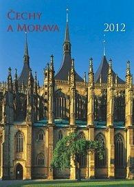 Kalenář nástěnný 2012 - Čechy a Morava, 33 x 46 cm