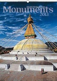 Kalendář 2013 nástěnný - Monuments, 33 x 46 cm