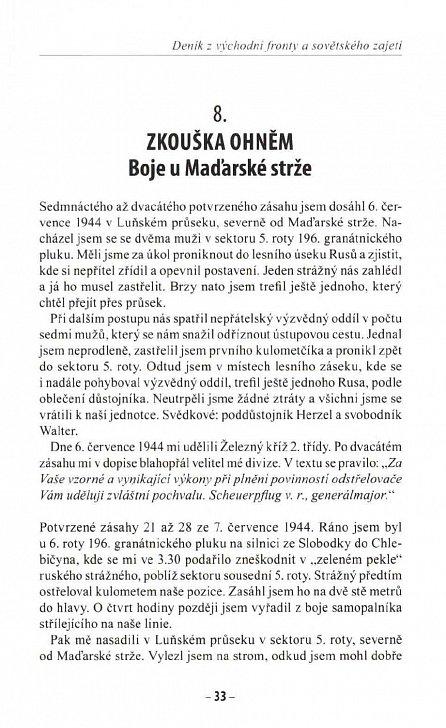 Náhled Odstřelovačské eso - Deník z východní fronty a sovětského zajetí