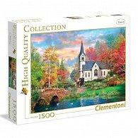 Puzzle 1500 dílků Barevný podzim