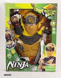 Ninja sada s brněním a zbraněmi
