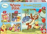Puzzle Medvídek Pú 6,9,12 a 16 dílků