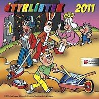 Kalendář 2011 - Čtyřlístek - s českými jmény (30x60) nástěnný poznámkový