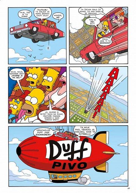 Náhled Simpsonovi FUTURAMA - Propletená lapálie