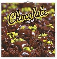 Kalendář 2015 - Čokoláda - voňavý - nástěnný, 30 x 30 cm