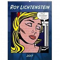 Kalendář nástěnný 2017 - Roy Lichtenstein/Tvorba ze 60. let