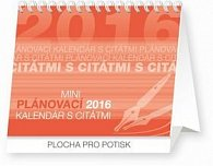 Plánovací kalendár s citátmi - stolový kalendár 2016