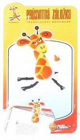 Průsvitná záložka Žirafa - PZ 022