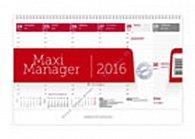 Kalendář stolní 2016 - Maximanager červený