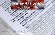 Anglicky každý den 2010 - stolní kalendář