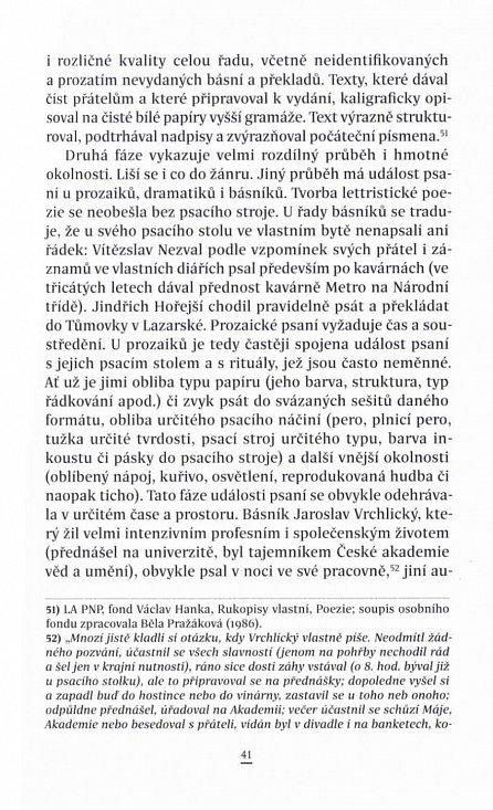 Náhled Psaní na dotek - Materialita textu a proces psaní v české literární kultuře 1885-1989