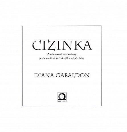 Náhled Cizinka - (antistresové) omalovánky podle úspěšné knižní a filmové předlohy