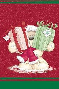 Střední vánoční taška s Fizzy Moonem