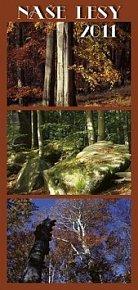 Kalendář 2011 - Naše lesy - s českými jmény (20x42) nástěnný