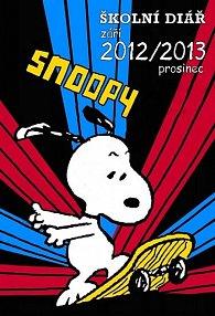 Snoopy - školní diář 2012/2013 (září 2012 - prosinec 2013)
