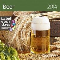 Kalendář 2014 - Beer - nástěnný