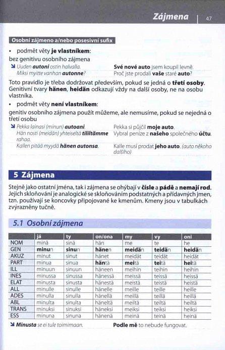 Náhled Gramatika současné finštiny s praktickými příklady