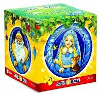 Sněhurka a Mrazík - Plastic Puzzle Koule 60 Vánoční kolekce