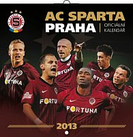 Kalendář 2013 poznámkový - AC Sparta Praha, 30 x 60 cm