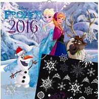 Kalendář nástěnný 2016 - W. D. Ledové království - DIY: s 50 samolepkami, poznámkový  30 x 30 cm