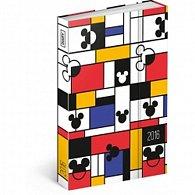 Diář 2016 - W. D. Mickey,  10,5 x 15,8 cm
