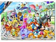 Puzzle Disney postavičky, 200 dílků