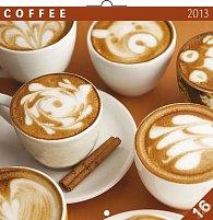 Kalendář 2013 poznámkový - Káva, 30 x 60 cm