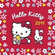 Kalendář 2011 - Hello Kitty (30x60) nástěnný poznámkový