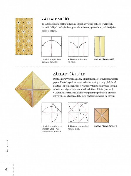Náhled Skládej a tvoř nové origami