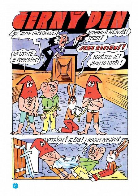 Náhled Nádherné příběhy Čtyřlístku z let 1987 až 1989 (8. velká kniha)