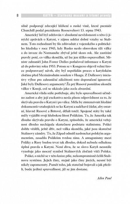 Náhled Katyň - Stalinský masakr a triumf pravdy