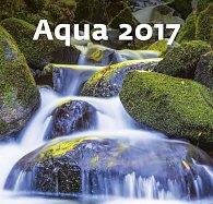 Kalendář nástěnný 2017 - Aqua
