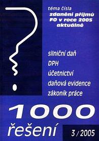 1000 řešení 3/2005