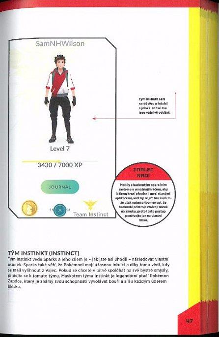 Náhled Pokémon GO: Neoficiální příručka