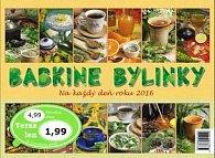 Babkine bylinky na každý deň roku 2016 - stolný kalendár
