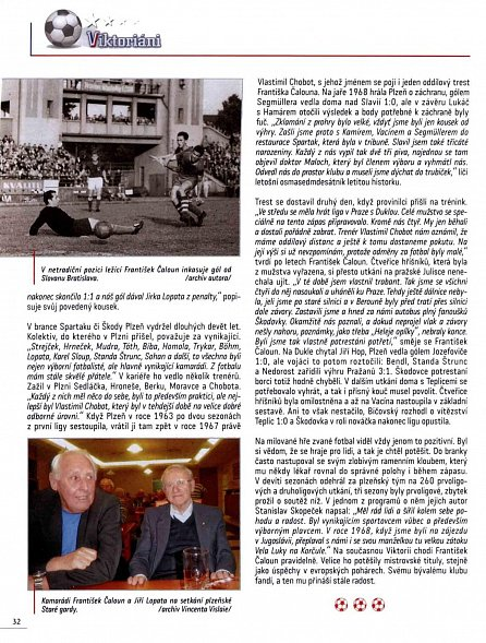 Náhled Viktoriáni - O fotbalistech, kteří psali historii slavného plzeňsého klubu