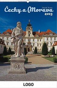 Kalendář 2013 - Čechy a Morava UNESCO praktik, 33x 46 cm
