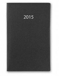 Diář VEGA 07 PVC měsíční+adresář 2015