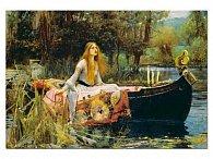 Puzzle Dívka na lodičce 1500 dílků