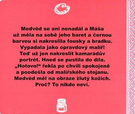 Náhled Máša a medvěd - Malířka Máša (kniha s puzzle)