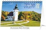 Tipy na výlety - stolní kalendář 2015