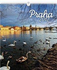 Kalendář 2012 - Praha, nástěnný