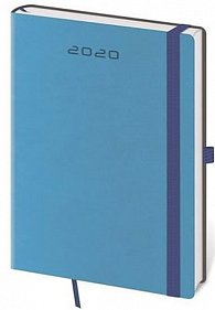 Diář 2020 - Flexies/týdenní A5/modrá