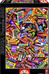 Puzzle Čokoládové tyčinky 500 dílků