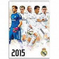 Kalendář 2015 - FC Real Madrid (297x420) official