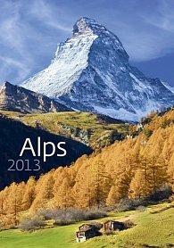 Kalendář nástěnný 2013 - Alps
