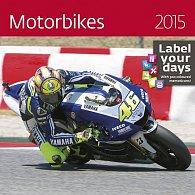 Kalendář nástěnný 2015 - Motorbikes