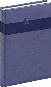 Diář 2013 - Aprint - Denní A5 Praktik, středně modrá, 15 x 21 cm